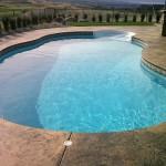 Stamp pool deck